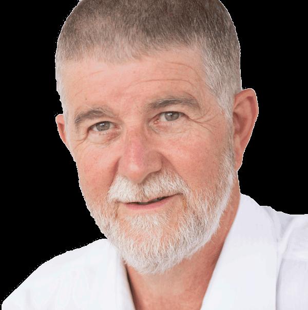John Broadbent author of Man Unplugged
