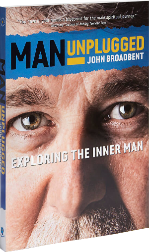 Man Unplugged book front cover